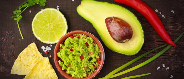 Классический гуакамоле из авокадо