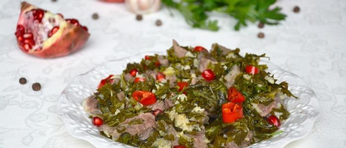Чакапули по-грузински из говядины