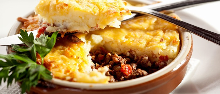 шотландский пастуший пирог