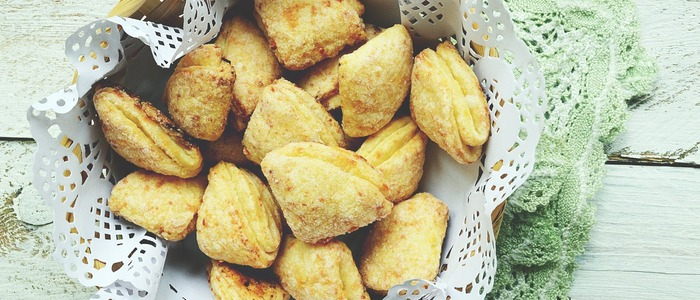 Творожное печенье Утиные лапки - рецепт пошаговый с фото