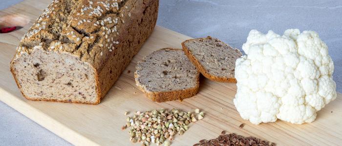 безглютеновый хлеб из зеленой гречки