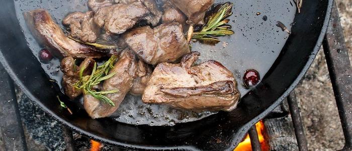мясо косули в духовке