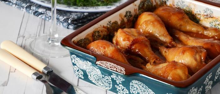 куриные ножки в соевом соусе на сковороде