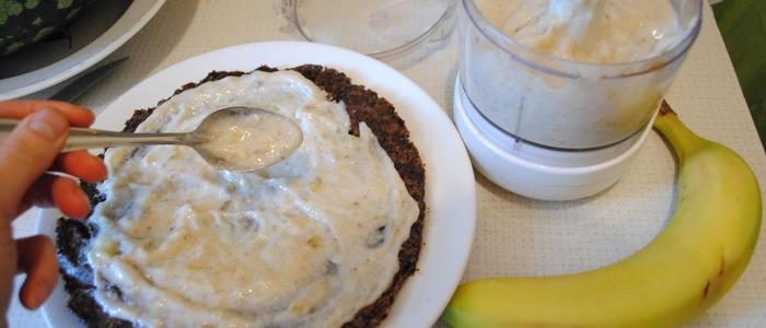 банановый крем для бисквитного торта