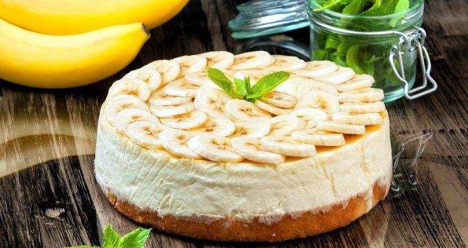 банановый крем для торта