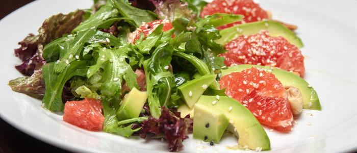 овощной салат на завтрак