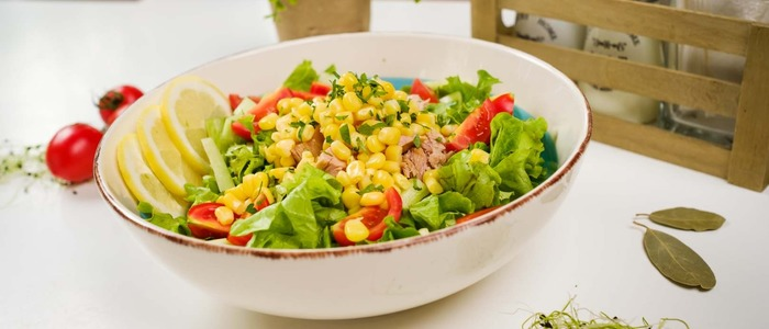 Мексиканский салат с фасолью