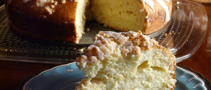вкуснейший сахарный пирог со сливками