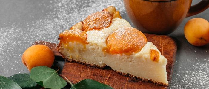дрожжевой пирог с абрикосами