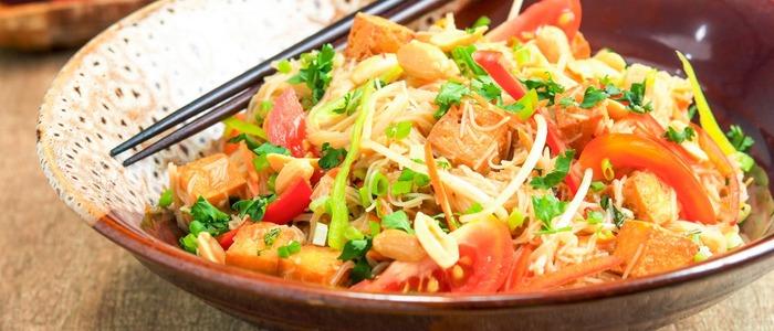 салат из китайской лапши быстрого приготовления