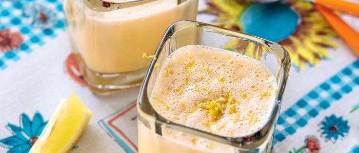 гоголь-моголь из белка и сахара