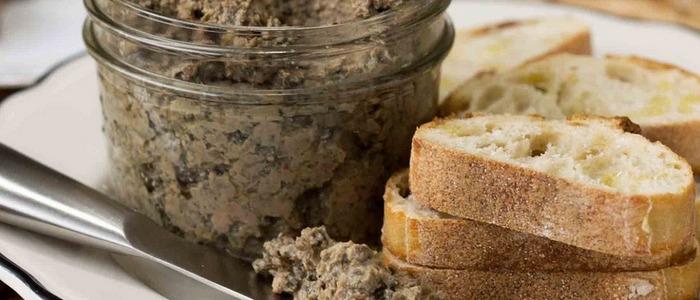 грибной паштет в домашних условиях