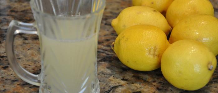 Компот из лимонов с мятой