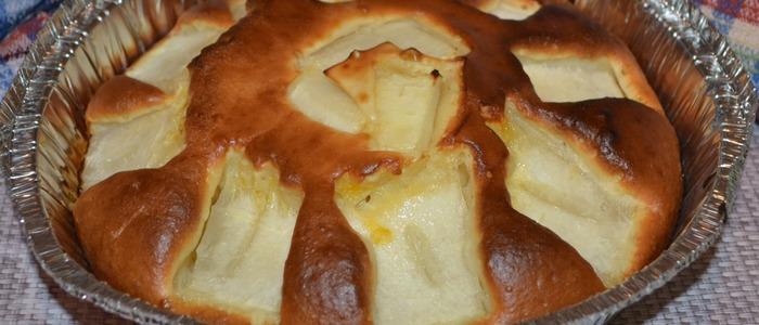 Пирог с дыней в мультиварке