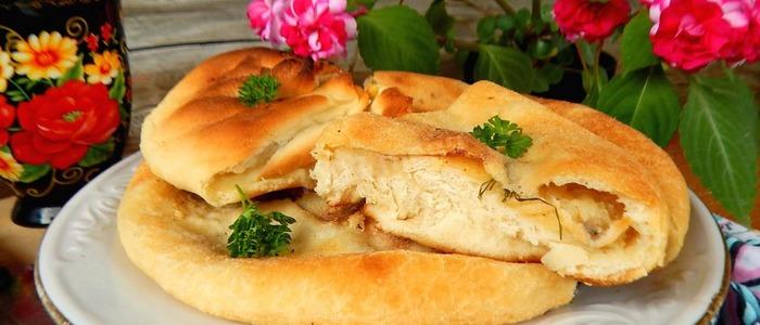 адыгейский пирог с картошкой и сыром