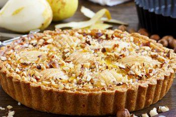 Грушевый пирог – 5 очень вкусных рецептов